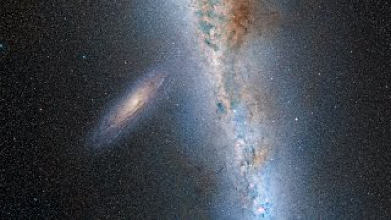 Млечный Путь столкнется с Андромедой