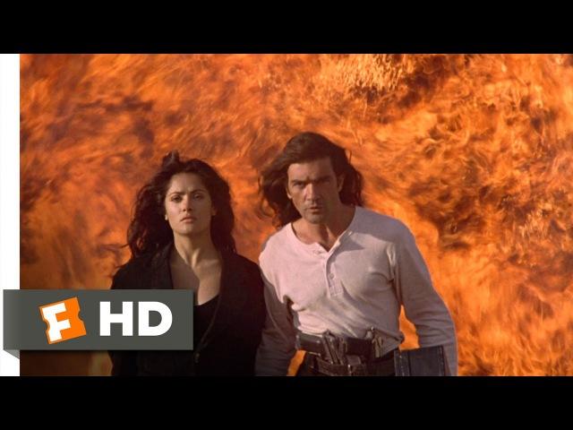 Desperado (58) Movie CLIP - Rooftop Escape (1995) HD