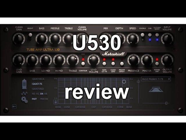 Mercuriall U530 amp sim review - ForTiorI