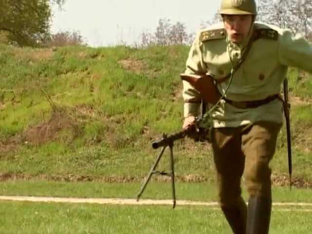 Пулемет Мадсен Madsen light machine gun Арсенал
