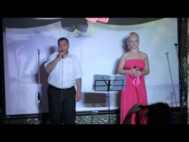 Алла Роус и Геворг Серобян - Королева вдохновения (Живой звук)