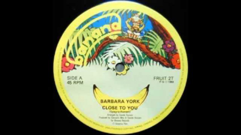 Barbara York - Close to You (1983)