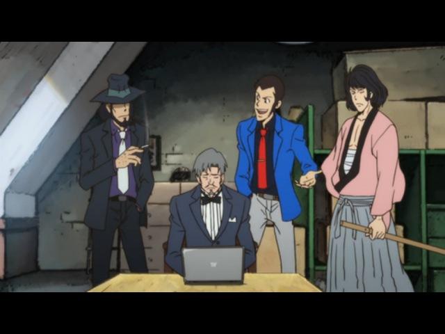 Lupin III 2015 11 серия [Озвучили:Alorian MeLarie]/ Люпен 3 Итальянские каникулы русская озвучка