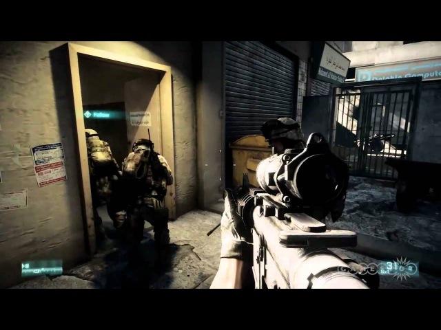 Battlefield 3 Trailer (PC, PS3, Xbox 360)