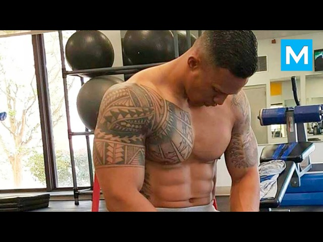 Universal Soldier in Real Life Military Strength Training with Diamond Ott Muscle Madness