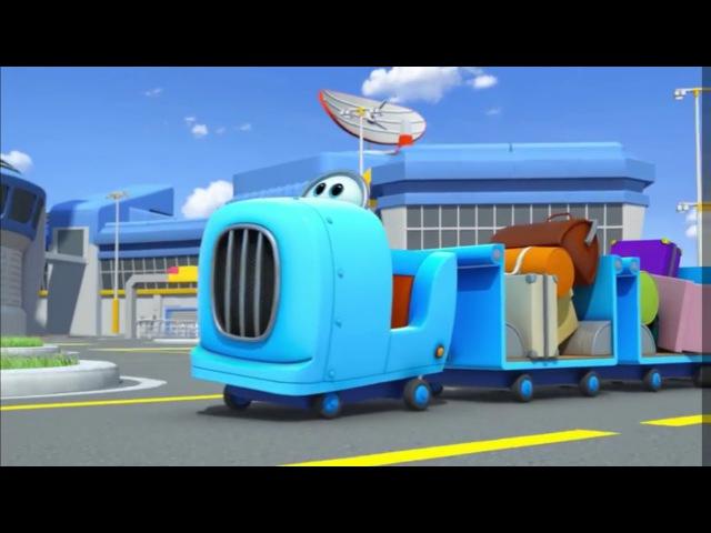 Супер крылья - Джетт и его друзья - Поезд отправляется - Самолеты-трансформеры