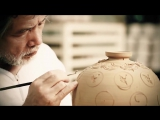 South Korean Ceramic And Pottery Master Craftsmen Show Off