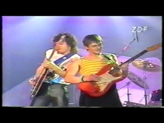 Peters pop show 1985- Mike Oldfield Anita Hegerland(Pictures in the dark)