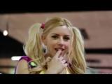 Охуенное видео Lexi Belle Riley Reid школьницу ебут на роликах в носках косички носочки трахаются ебёт