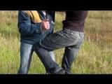 Удар коленом в пах. Драка. Как научиться драться