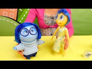 Видео для детей с игрушками из мультика Головоломка - Inside Out Toys