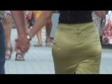 SEXy Lady in Mini-skirt !!! BIG ASS !!! ШИКарная Леди в короткой юбке и с большой попой Part One !!!