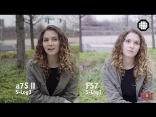 Лицом к лицу Sony серии a7 vs. Sony FS7
