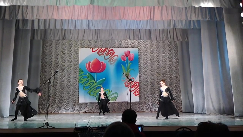 Ансамбль арабского танца Гюнеш Ангел и Демон