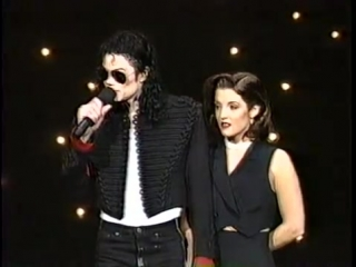 Michael Jackson & Lisa Marie Presley - 1994 MTV Video Music Award Opening