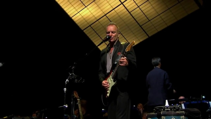 Sting - A Thousand Years (Live - Berlin 2010, HD)