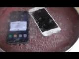 VS. Samsung Galaxy S7 против iPhone 6S / Тест в Кипящей воде