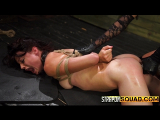 Kaisey Dean, Marina Angel, Esmi Lee -FetishNetwork | StrapOnSquad Endures a Lesbian Domination Threesome with Marina Angel and E