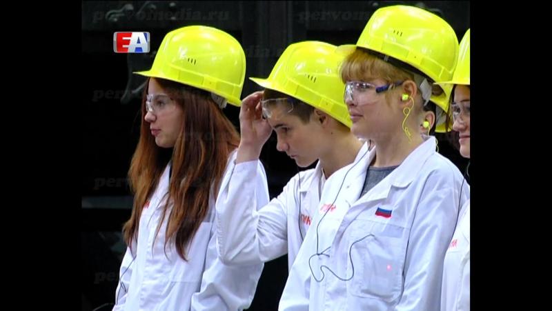 Студенты первокурсники теперь знают все об образовании Новотрубного завода