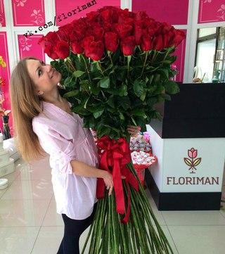 Гигантские розы в москве