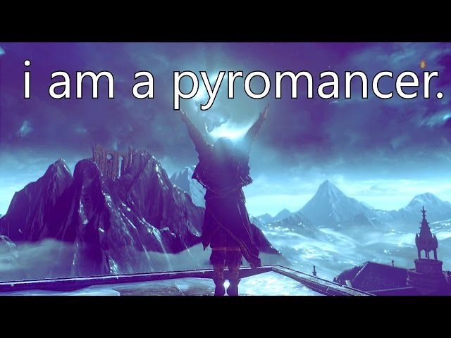 I am a Pyromancer - Dark Souls 3 PvP PURE DUAL PYROMANCY