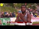 Beejay Lee vs Ameer Webb 200m Spitzen Leichtathletik Luzern 2016 HD