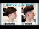 "men's haircut in the British style (мужская стрижка ""Британка"") tutorial 25"