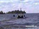 Видео Подводная Нива авто авто приколы автомобили вода водолазы озеро прико...