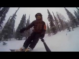 Sheregesh. Skiboards. Powder. Freeride.