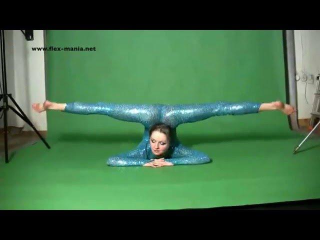 Гимнастку в видео с мужиком Вами