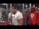 Jay Cutler & Kai GreeneTrain Chest at Bev Francis Powerhouse Gym