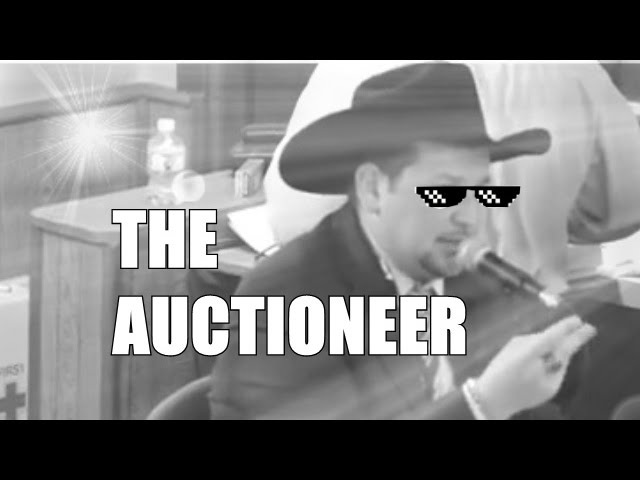 THE AUCTIONEER - RAP SESSION