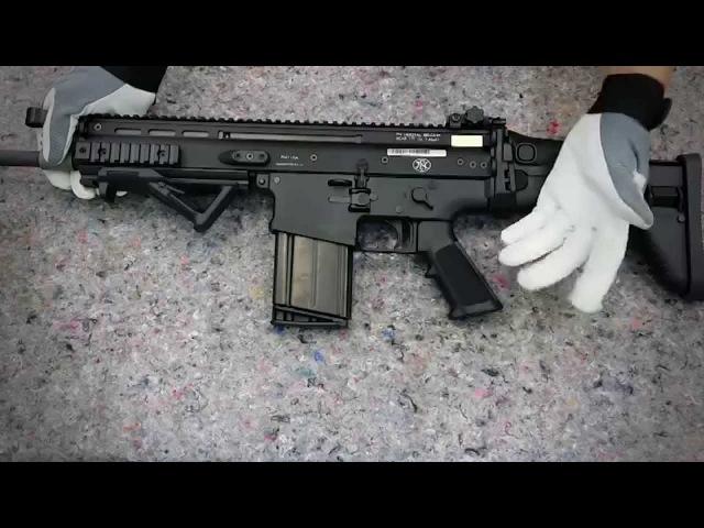 FN SCAR 17S разборка