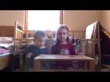 дети строят дом из lego - ВДВОЁМ конструктор собирают - РАССУЖДАЮТ