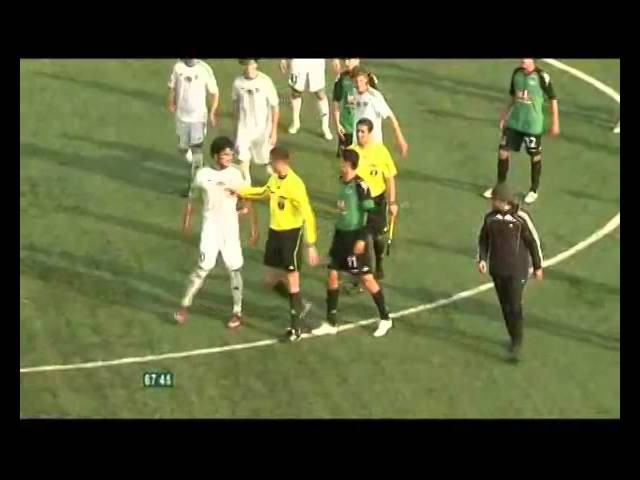 2011 Грозный Избиение Спартака Гогниева во время матча