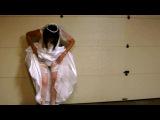 Crossdressing In Wedding Gown pt 1