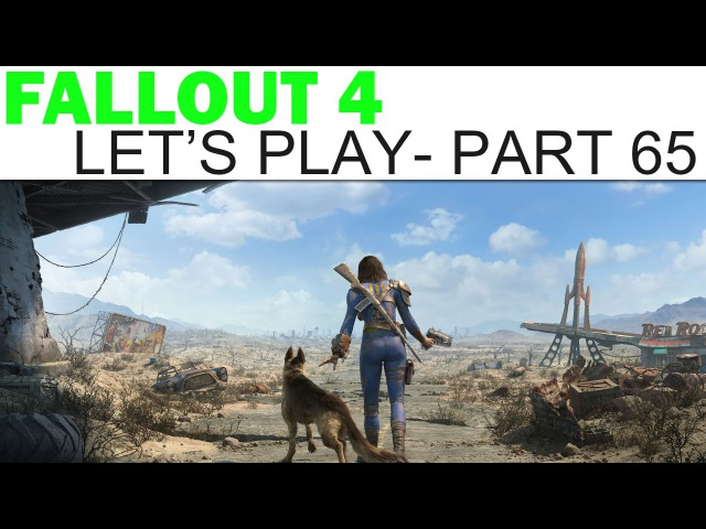 Fallout 4 Let's Play Part 65 Trinity Tower Feat Crazy Dr Crocker