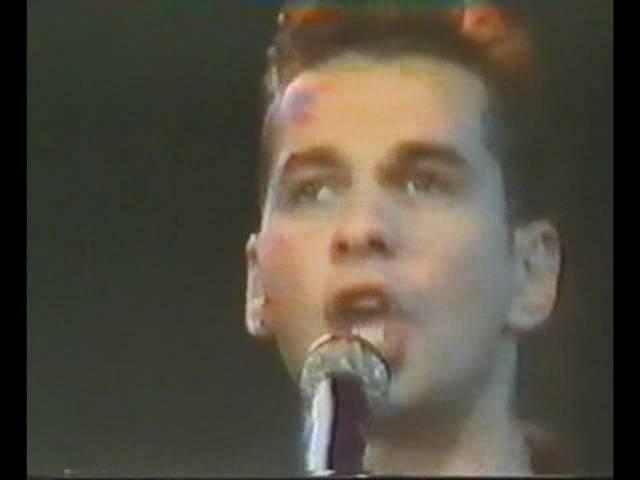 Depeche Mode - Never Let Me Down Again (Na Siehste ZDF Germany 30.08.1987)