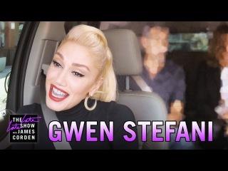 Gwen Stefani Carpool Karaoke (w/ George Clooney Julia Roberts)
