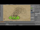 Покадровая 2D анимация с помощью Blender 2.70 Grease Pencil