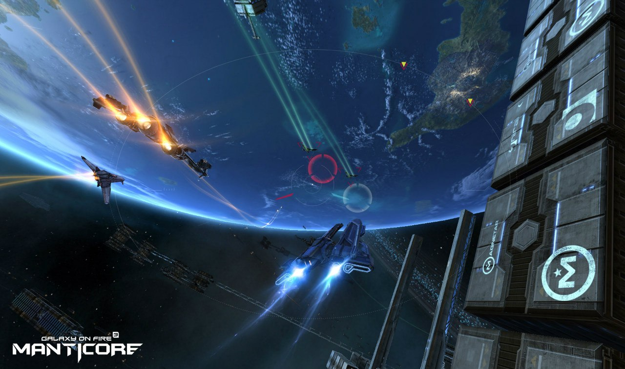 Подробности Galaxy on Fire 3: Manticore