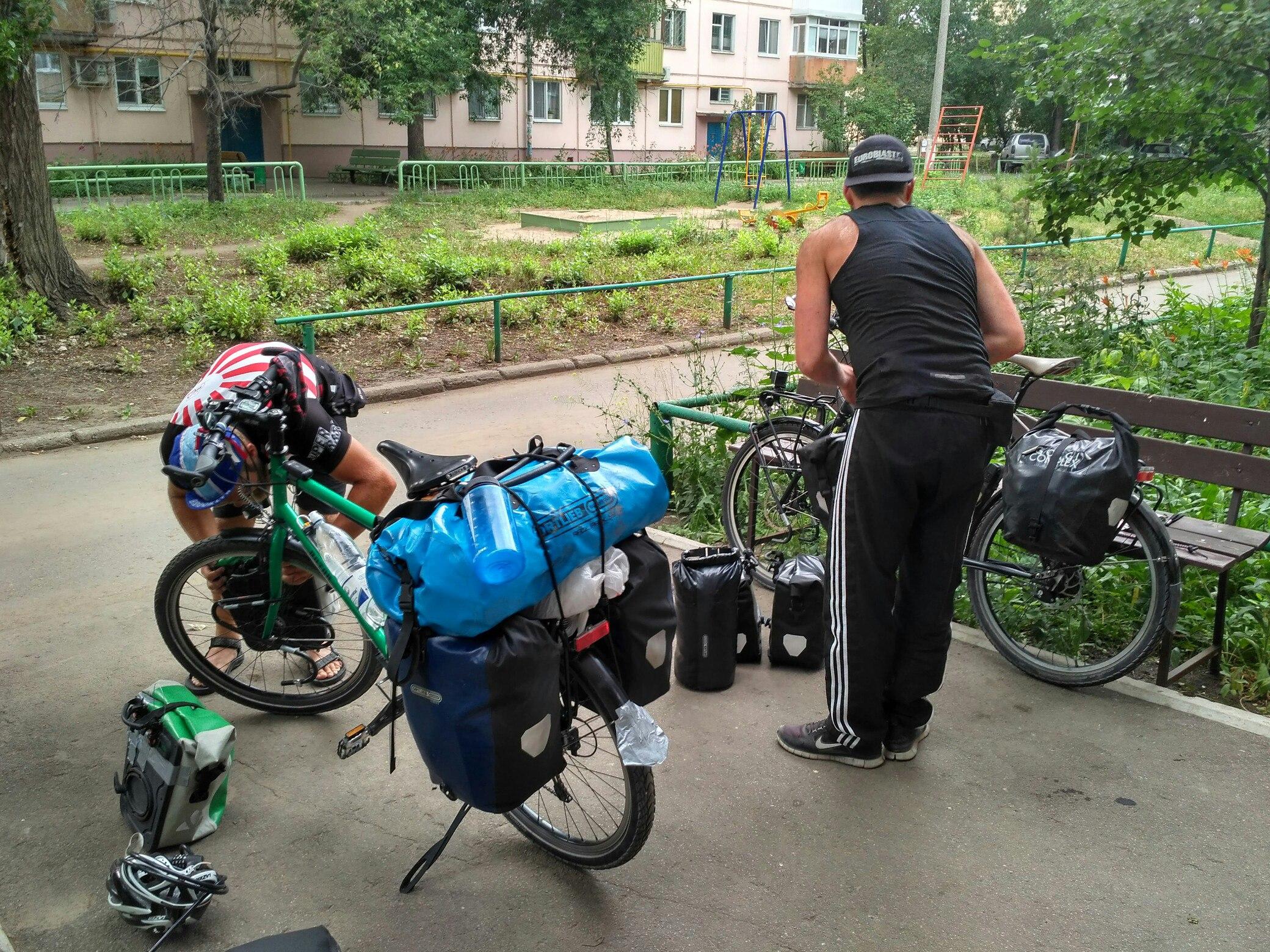 На велосипеде из Германии в Индию и далее.... по всему миру.