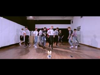 |dance practice| seventeen - very nice