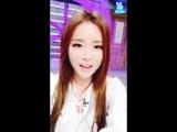 Vapp 160103 Hong Jin Young 홍진영 - 갓떼리언니 방송녹화전 ㅋ