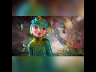 Vines with cartoons / rise of the guardians /