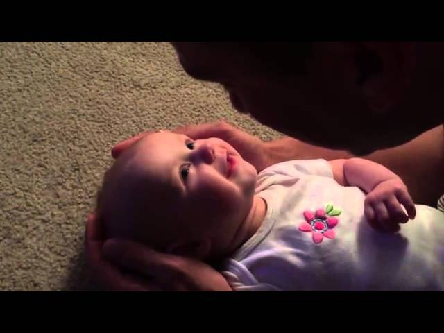 Man sings to his baby daughter You are so beautiful to me in video Daily Mail Online