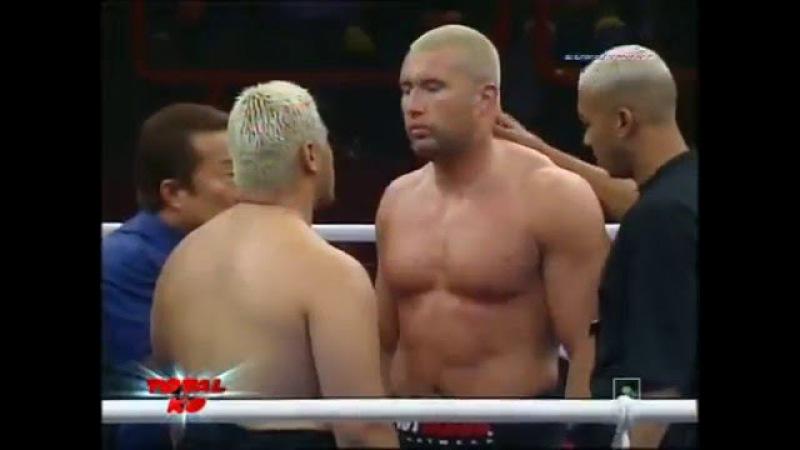 Жером Ле Баннер vs. Марк Хант Две легенды К -1