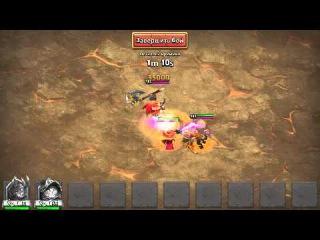 Boss 3 vs 2 hero