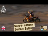 Stage 9 Summary - Car/Bike - (Belen / Belen)