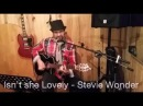 Isn't She Lovely - Stevie Wonder - Acoustic Guitar Cajón Live Loop Cover